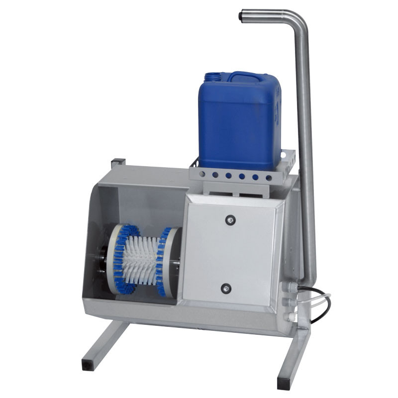 Sole washer 100-024 wall or floor mounting now available with 230V electric supply