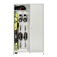 Electrically heated Ski cabinet 400
