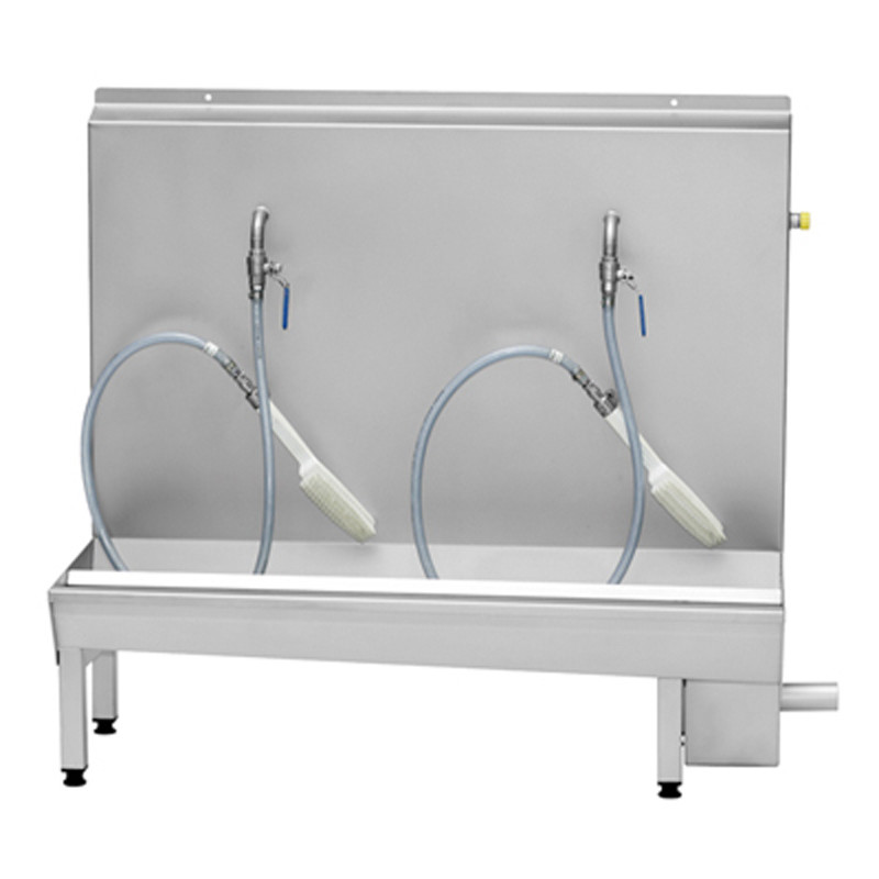 ECO Boot washer with 1-3 individual boot cleaning places