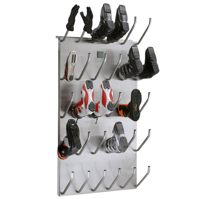 Shoe-dryer-heated-electrically dries schoes, gloves and boots gently