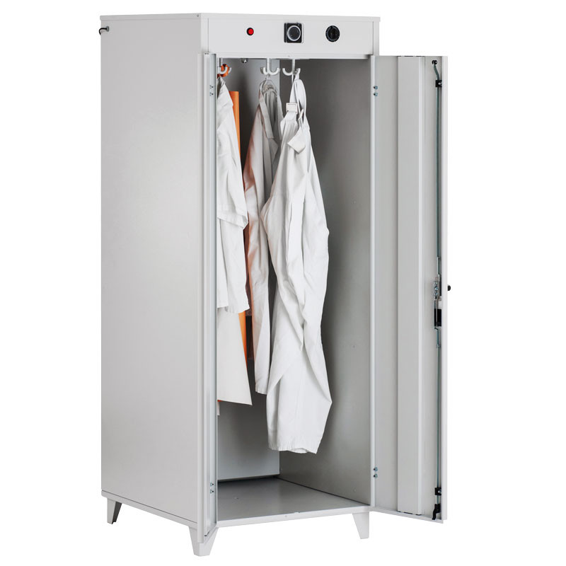 Drying cabinet warm ari with maintenance-free hot air blower