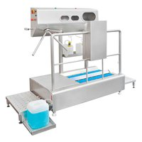 Hygiene station hand cleaning disinfection drying BASIC