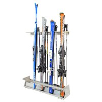 Ski Stand wall-mounted 9 - 16 pairs