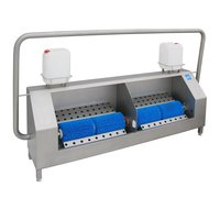 Sole cleaning machine for 2-4 persons