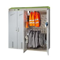 Drying cabinet 40 work jackets 24 pair of gloves
